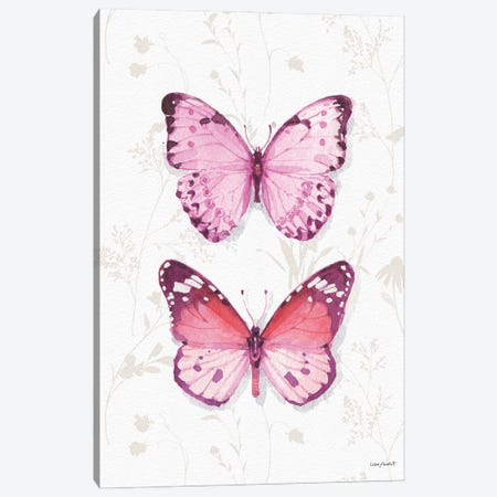 Obviously Pink XIA Canvas Print #UDI255} by Lisa Audit Canvas Art Print