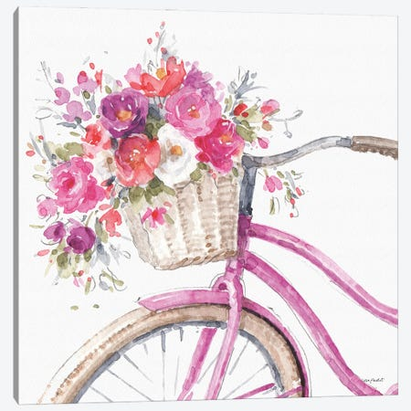 Obviously Pink XIVA Canvas Print #UDI258} by Lisa Audit Canvas Art
