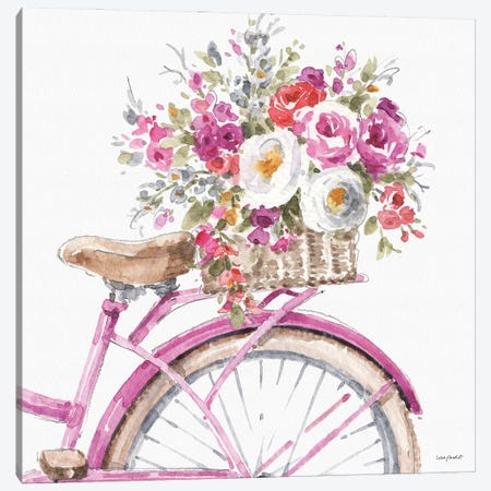 Obviously Pink XVA Canvas Print #UDI259} by Lisa Audit Canvas Art