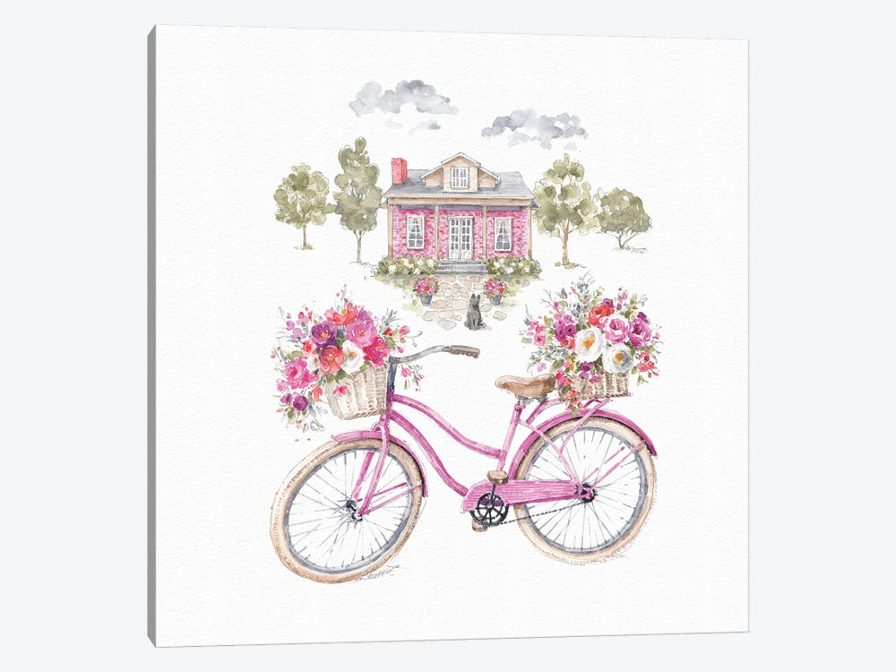 Obviously Pink XVIA by Lisa Audit 1-piece Canvas Wall Art