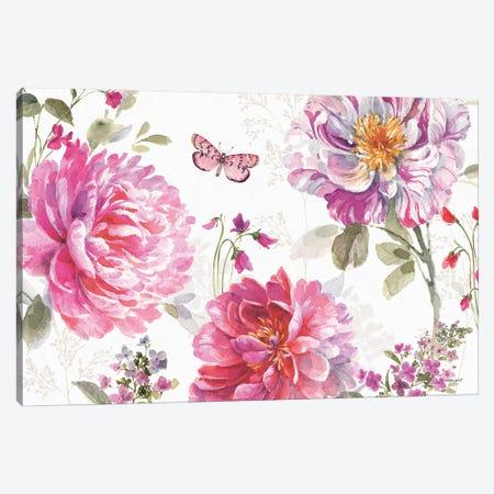 Obviously Pink XVIIIA Canvas Print #UDI262} by Lisa Audit Canvas Print