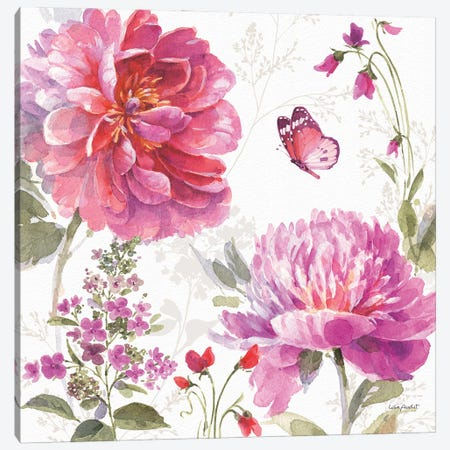 Obviously Pink XIXA Canvas Print #UDI263} by Lisa Audit Art Print