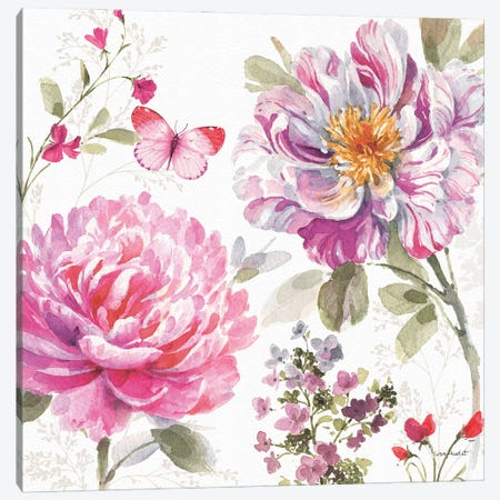 Obviously Pink XXA Canvas Print #UDI264} by Lisa Audit Canvas Artwork