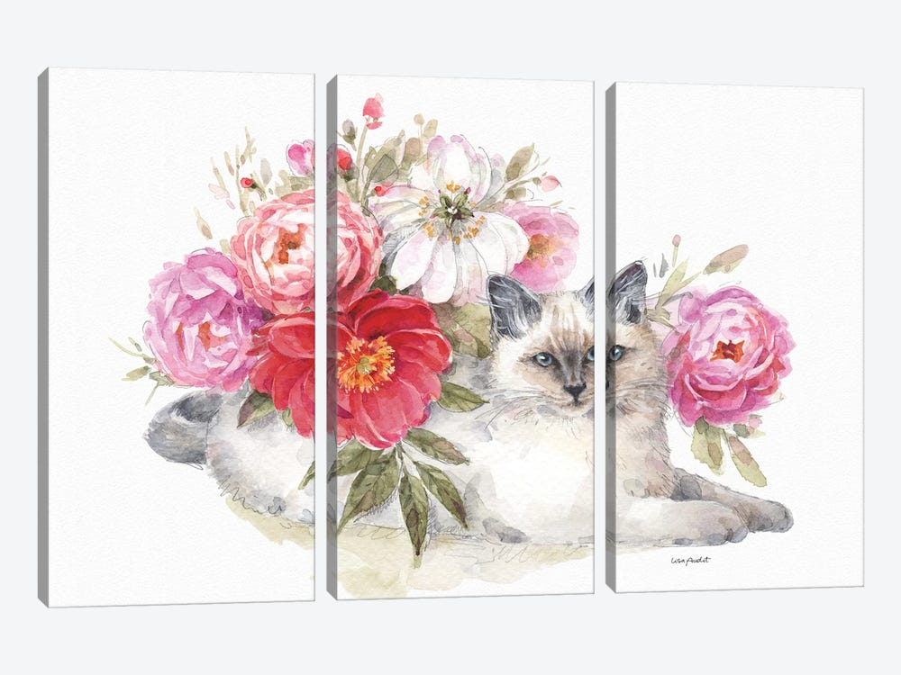 Obviously Pink XXIA by Lisa Audit 3-piece Art Print