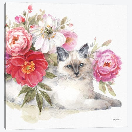 Obviously Pink XXIB Canvas Print #UDI266} by Lisa Audit Canvas Art