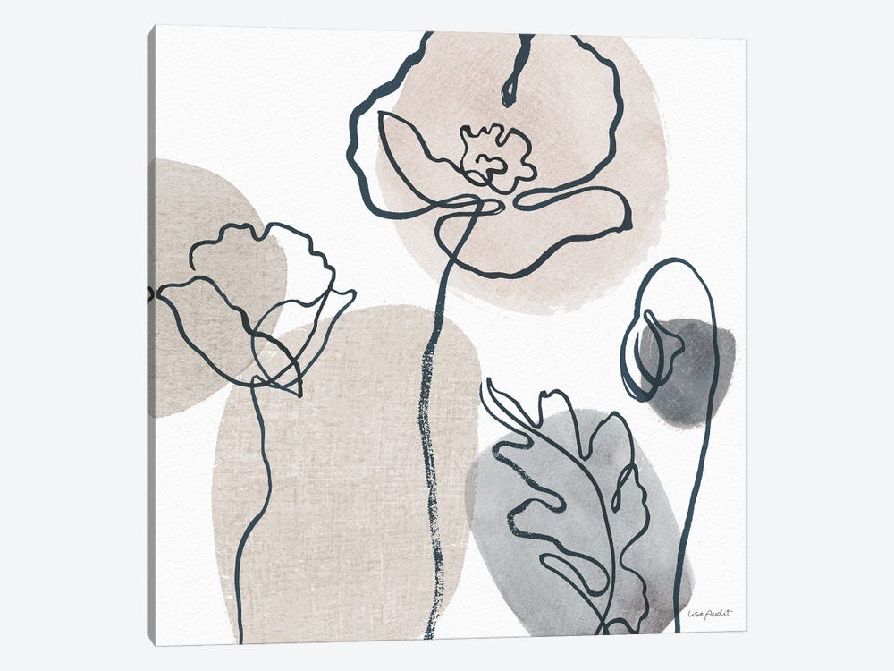 Think Neutral IIA by Lisa Audit 1-piece Canvas Artwork