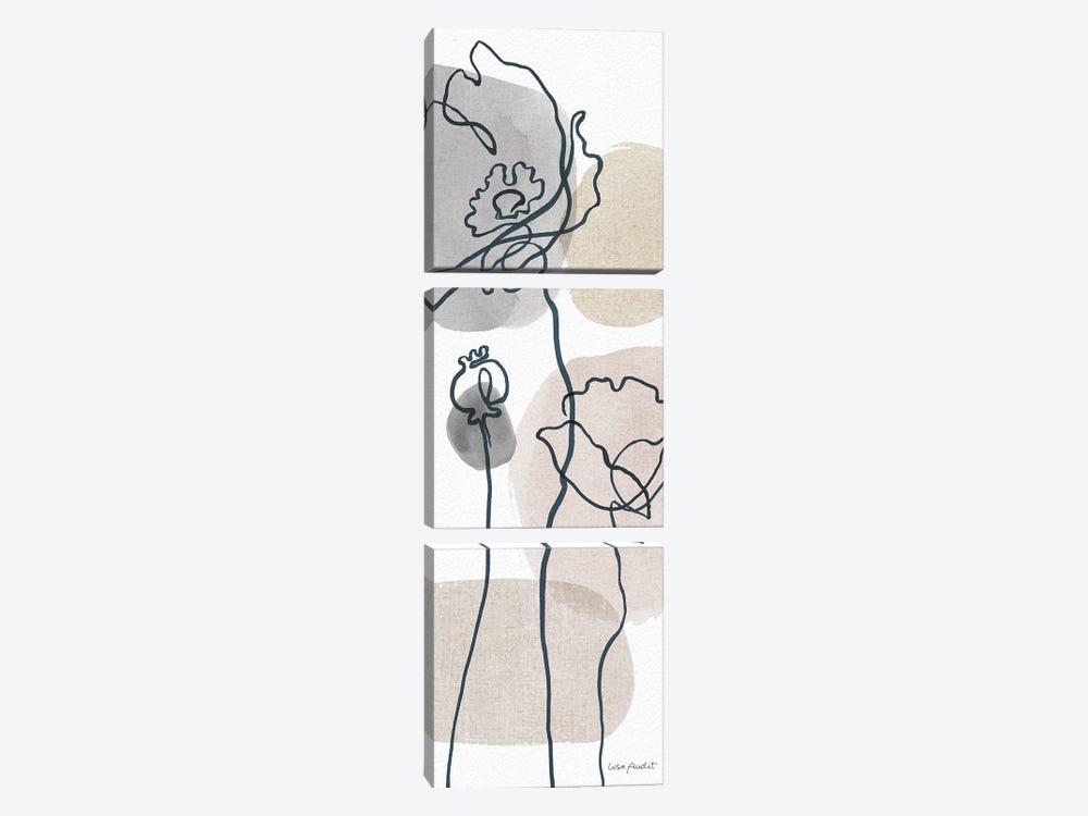 Think Neutral VA by Lisa Audit 3-piece Canvas Wall Art