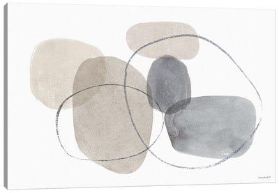 Think Neutral VIA Canvas Art Print