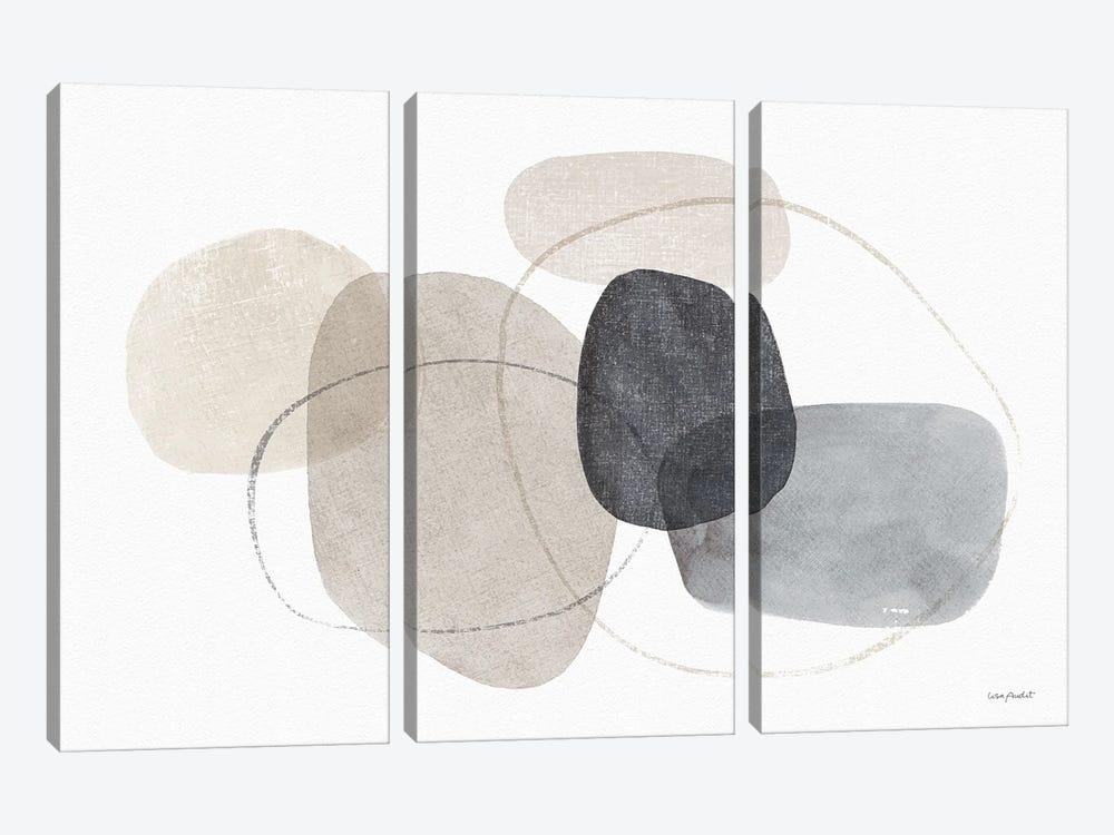 Think Neutral IXA by Lisa Audit 3-piece Canvas Art