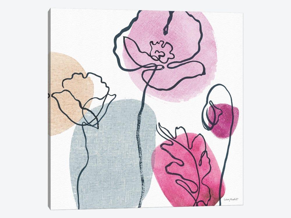 Think Pink IIA by Lisa Audit 1-piece Art Print