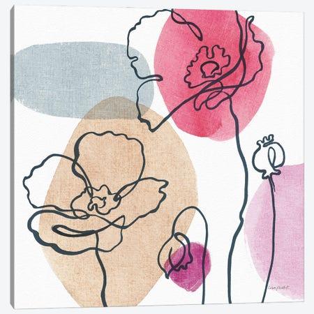 Think Pink IIIA Canvas Print #UDI284} by Lisa Audit Canvas Wall Art