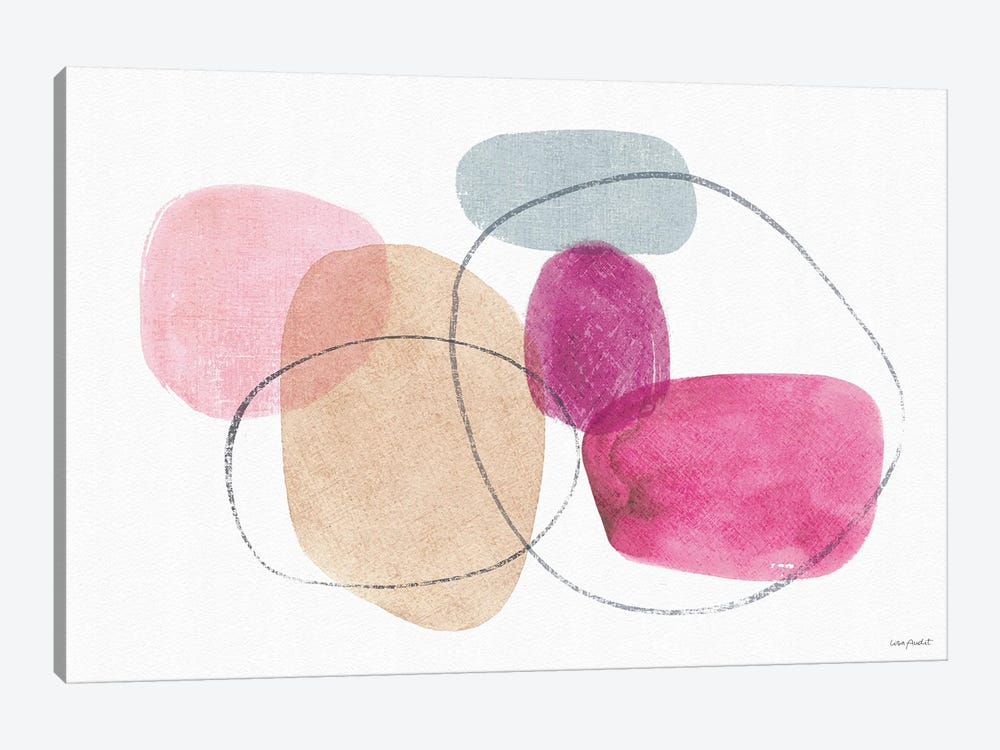 Think Pink VIA by Lisa Audit 1-piece Art Print