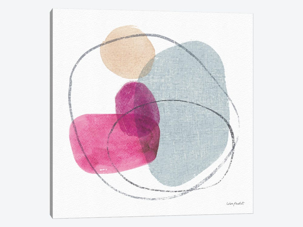Think Pink VIIIA by Lisa Audit 1-piece Art Print