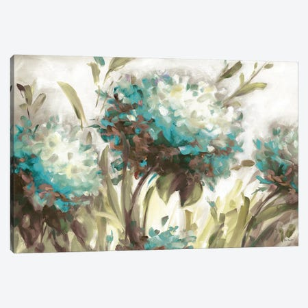 Hydrangea Field Neutral Canvas Print #UDI28} by Lisa Audit Canvas Art Print