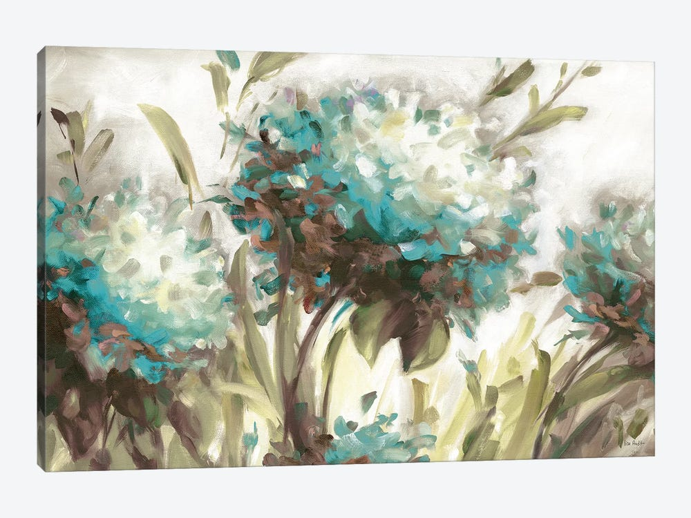 Hydrangea Field Neutral by Lisa Audit 1-piece Canvas Print