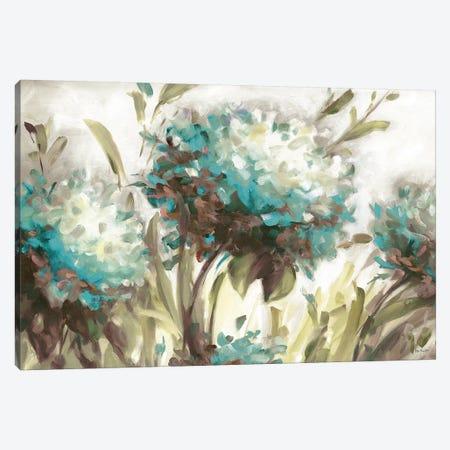 Hydrangea Field Neutral Canvas Print #UDI28} by Lisa Audit Canvas Art Print