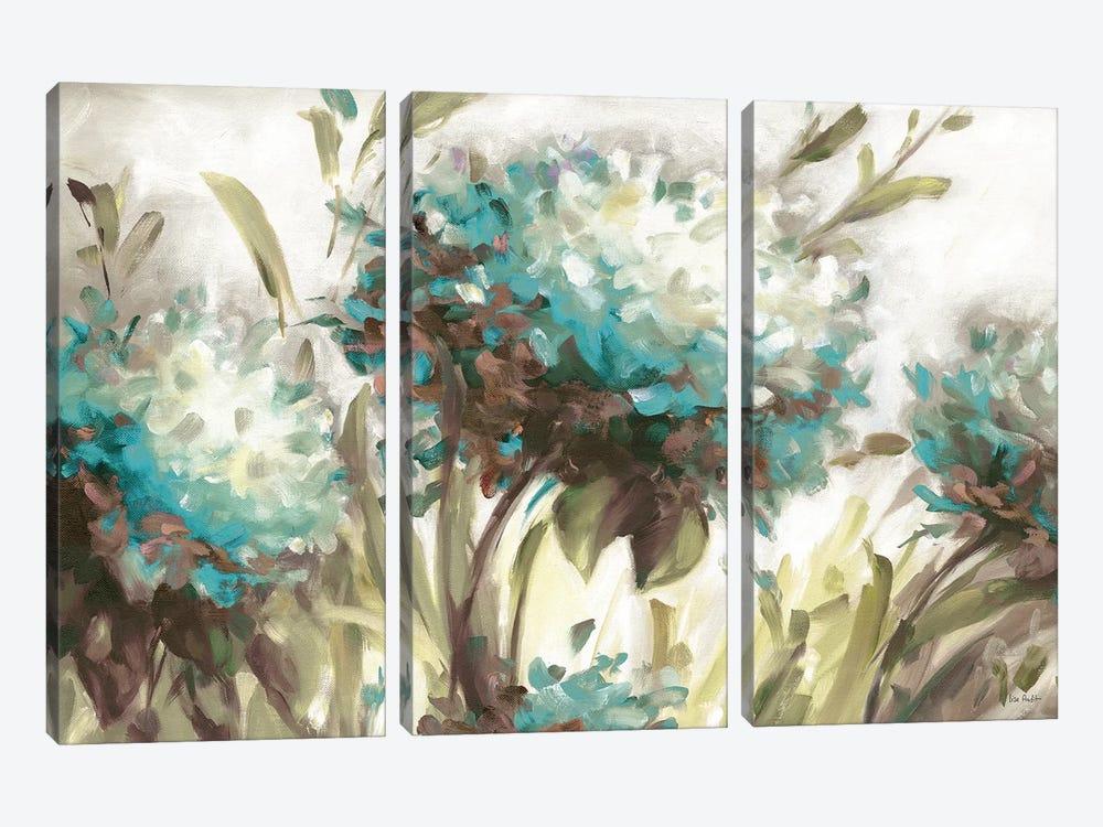 Hydrangea Field Neutral by Lisa Audit 3-piece Art Print