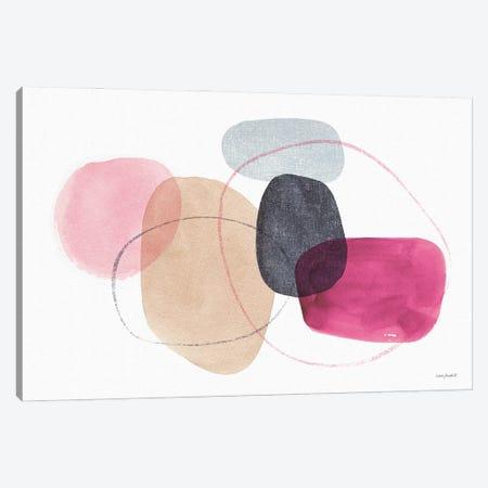 Think Pink IXA Canvas Print #UDI290} by Lisa Audit Canvas Artwork