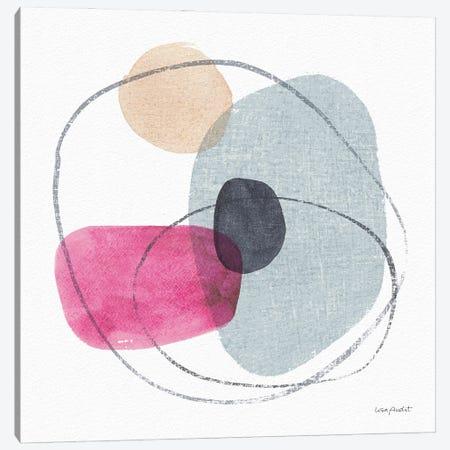 Think Pink XIA Canvas Print #UDI292} by Lisa Audit Canvas Art