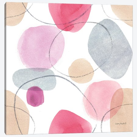 Think Pink XIVA Canvas Print #UDI295} by Lisa Audit Canvas Print