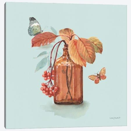 Autumn In Nature III On Aqua Canvas Print #UDI307} by Lisa Audit Canvas Art Print
