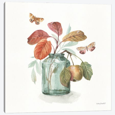 Autumn In Nature V On White Canvas Print #UDI310} by Lisa Audit Art Print