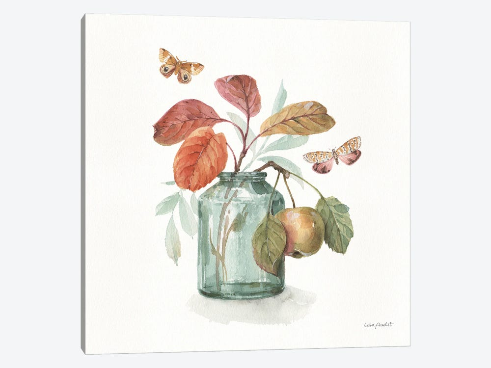 Autumn In Nature V On White by Lisa Audit 1-piece Canvas Artwork