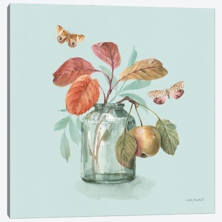 Autumn In Nature V On Aqua Canvas Print #UDI311} by Lisa Audit Canvas Art Print