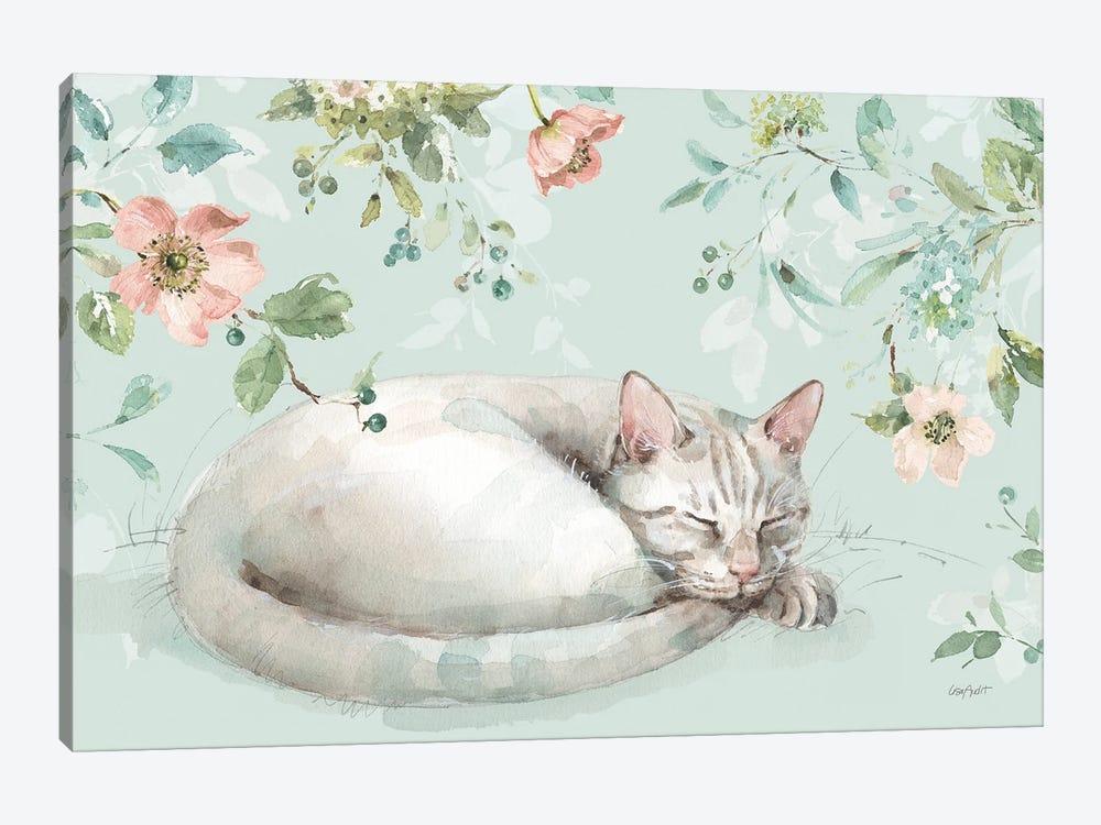 Mint Crush XV On Mint Landscape by Lisa Audit 1-piece Canvas Art