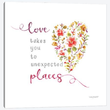 My Blooming Heart Canvas Print #UDI347} by Lisa Audit Art Print