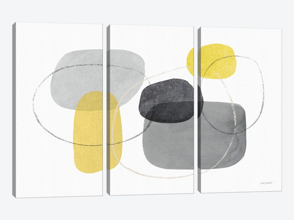 Radiance I by Lisa Audit 3-piece Canvas Art