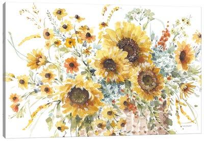 Sunflowers Forever I Canvas Art Print