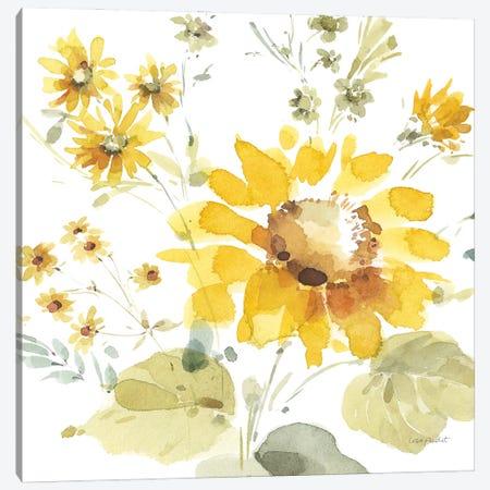 Sunflowers Forever V Canvas Print #UDI367} by Lisa Audit Art Print