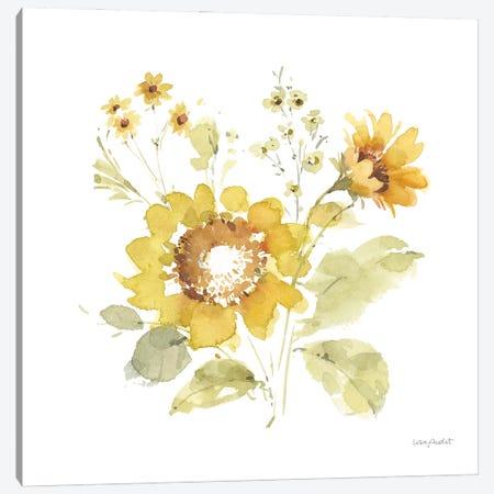 Sunflowers Forever VI Canvas Print #UDI368} by Lisa Audit Canvas Art