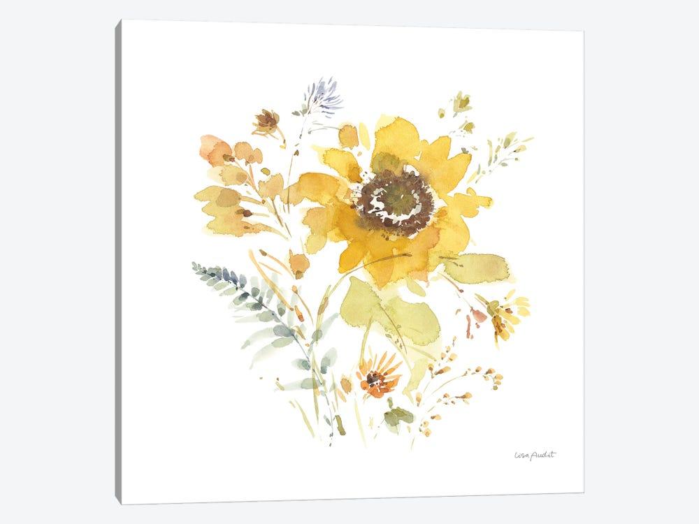 Sunflowers Forever IX by Lisa Audit 1-piece Art Print