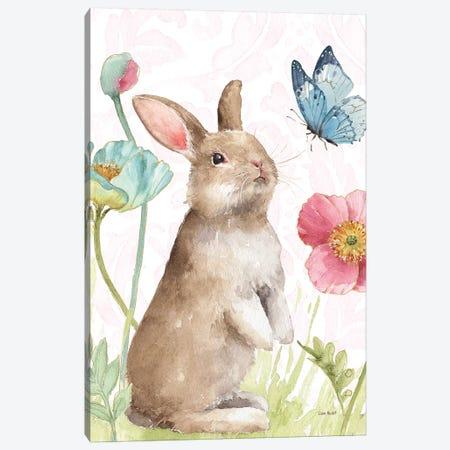 Spring Softies Bunnies  II Pink Canvas Print #UDI38} by Lisa Audit Canvas Art