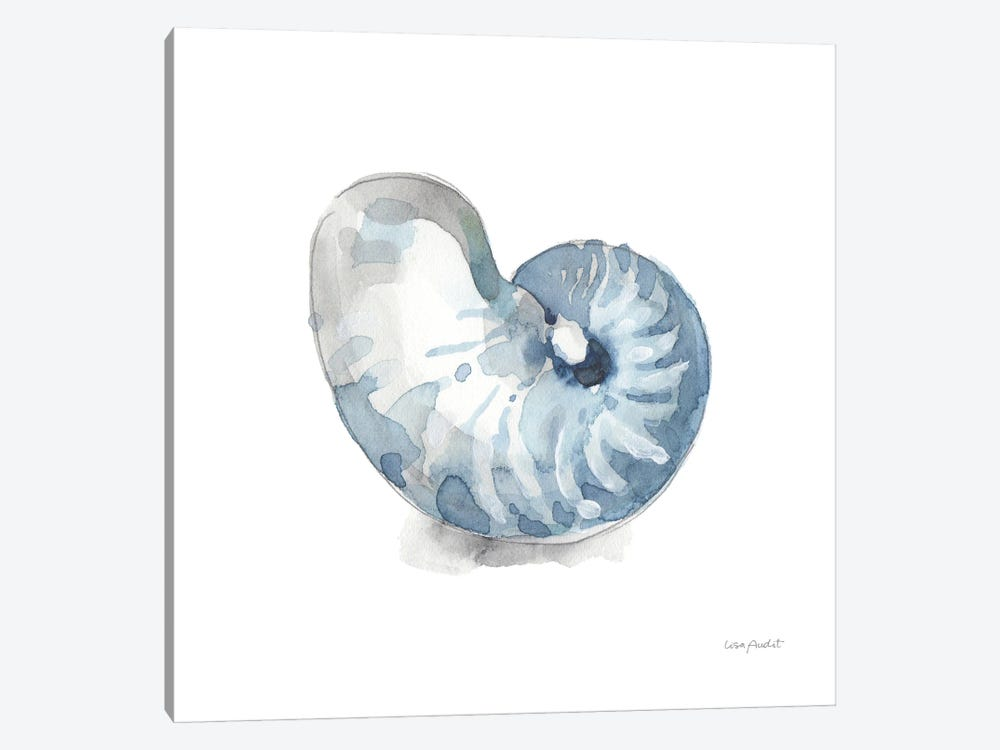 Blue Escape Coastal V by Lisa Audit 1-piece Canvas Wall Art