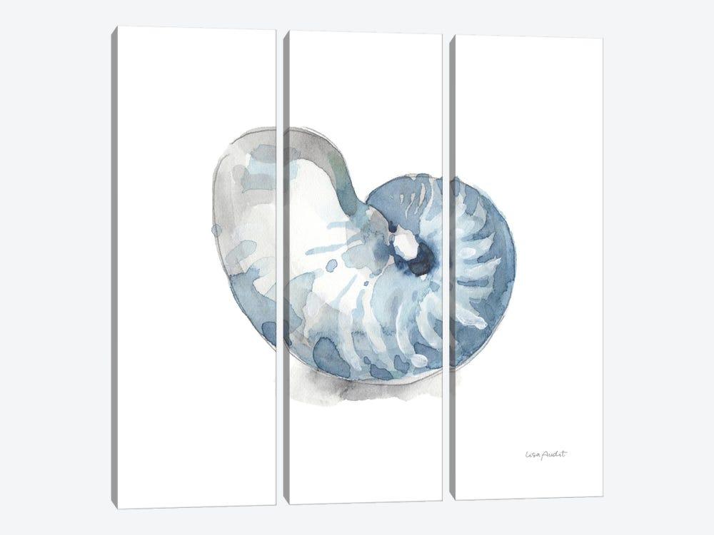 Blue Escape Coastal V by Lisa Audit 3-piece Canvas Art