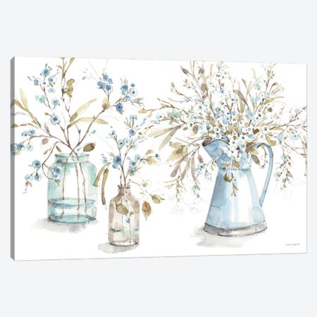 Blue Escape I Canvas Print #UDI402} by Lisa Audit Canvas Art Print