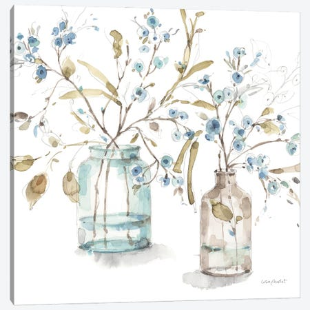 Blue Escape II Canvas Print #UDI403} by Lisa Audit Canvas Print
