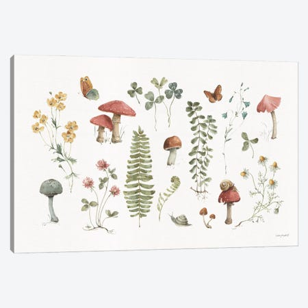 Forest Treasures I Canvas Print #UDI414} by Lisa Audit Canvas Print