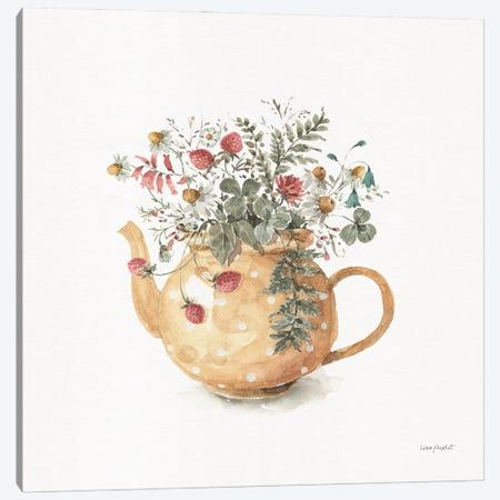 Garden Tea II Canvas Print #UDI418} by Lisa Audit Canvas Artwork