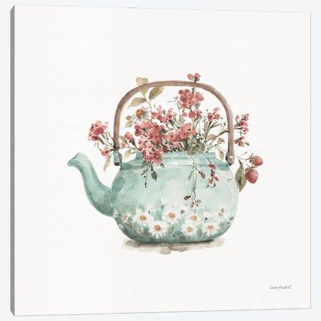 Garden Tea III Canvas Print #UDI419} by Lisa Audit Canvas Wall Art