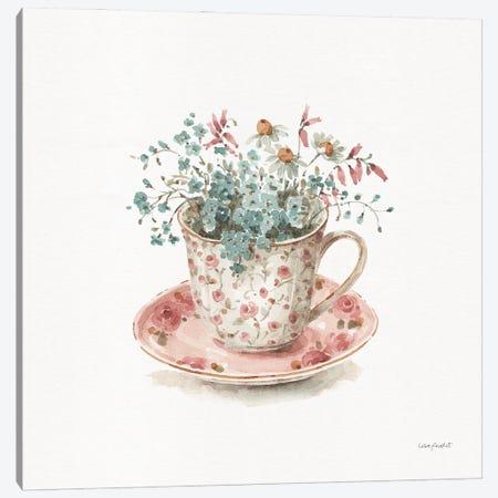 Garden Tea IV Canvas Print #UDI420} by Lisa Audit Canvas Print