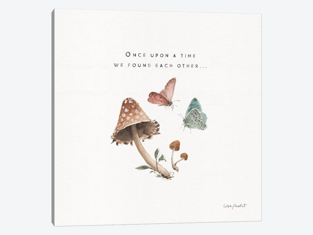 Storybook III by Lisa Audit 1-piece Canvas Wall Art
