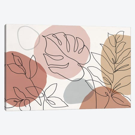 Just Leaves I Canvas Print #UDI432} by Lisa Audit Canvas Wall Art