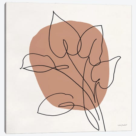 Just Leaves V Canvas Print #UDI436} by Lisa Audit Art Print