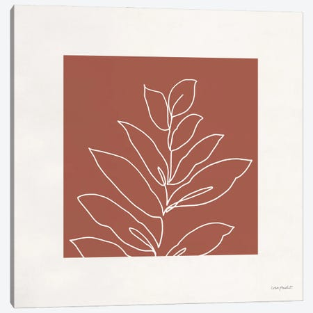 Just Leaves VI Canvas Print #UDI437} by Lisa Audit Art Print