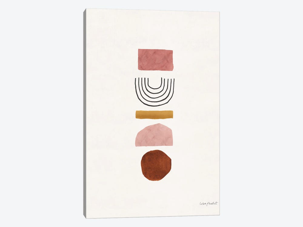 Shapes And Forms VI by Lisa Audit 1-piece Art Print