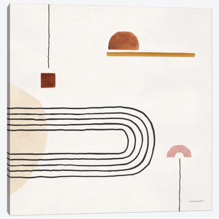 Sierra Abstract VI Canvas Print #UDI458} by Lisa Audit Canvas Artwork